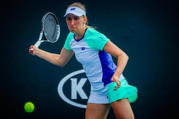 Open d'Australie: Elise Mertens l'emporte en double et passe au deuxième tour