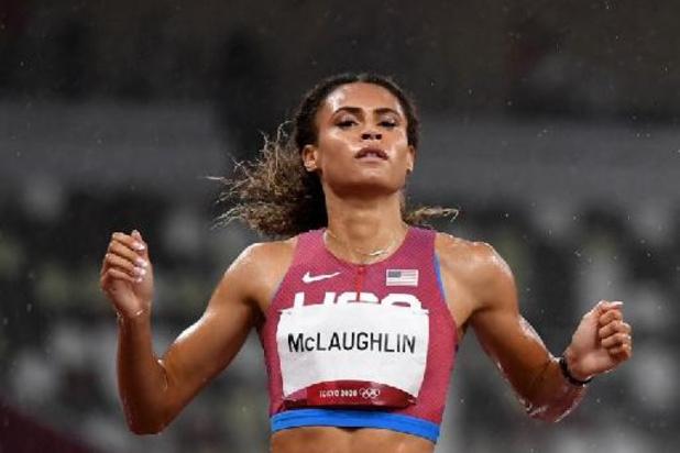 OS 2020 - Sydney McLaughlin pakt met wereldrecord goud in 400m horden