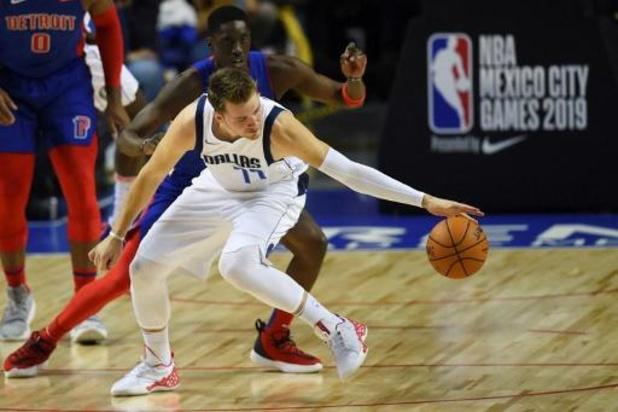 Dallas Mavericks maken brandhout van LA Clippers