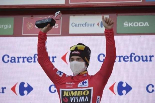 """Vuelta - Carapaz legt zich neer bij eindzege voor Roglic: """"Ik heb er voor gevochten"""""""