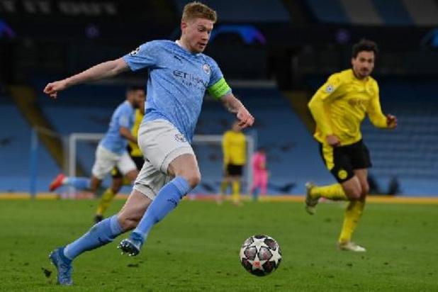 Kevin De Bruyne désormais lié à Manchester City jusqu'en juin 2025