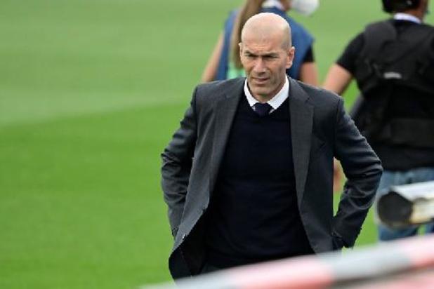 Zinédine Zidane stopt als trainer van Real Madrid