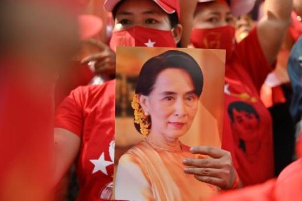 Aung San Suu Kyi verschijnt binnenkort weer in het openbaar