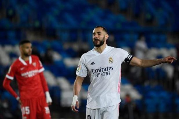 Belgen in het buitenland - Doelpunt van invaller Hazard levert Real gelijkspel op tegen Sevilla