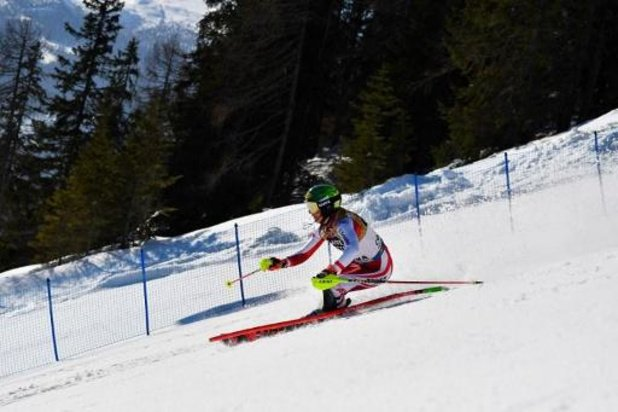 Oostenrijkse Liensberger verovert goud op slalom, Kim Vanreusel eindigt als 29e