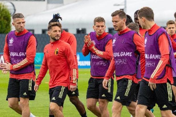 Euro 2020 - La Belgique au révélateur contre l'Italie, incertitudes autour d'Eden Hazard et De Bruyne