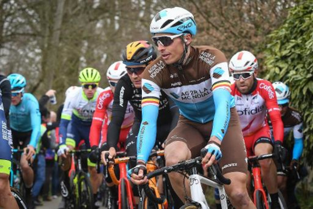 Oliver Naesen, Pascal Ackermann et Tejay Van Garderen ont quitté la course Paris-Nice