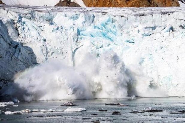 Het ijs op Groenland smelt zeven keer sneller dan eerder voorspeld