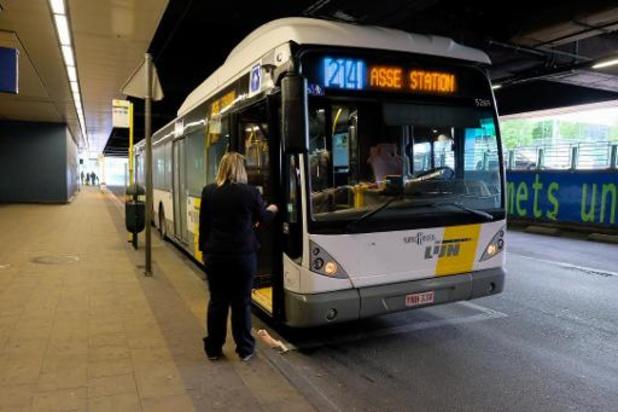 De Lijn is begonnen met infrastructuurwerken aan busstation Brussel-Noord