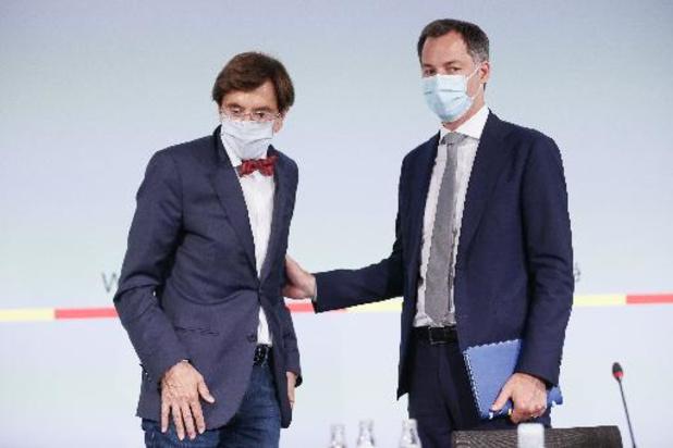 Les cabinets De Croo et Di Rupo vont explorer techniquement les demandes de la Wallonie des suites des intempéries