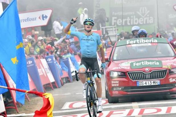 Le Danois Jakob Fuglsang, chef de file d'Astana pour le Giro