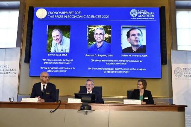 Le Nobel d'économie à un trio de spécialistes de l'économie expérimentale