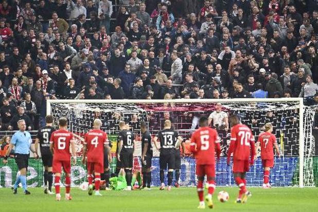 Europa League - Antwerp verliest van Frankfurt na penaltygoal in blessuretijd