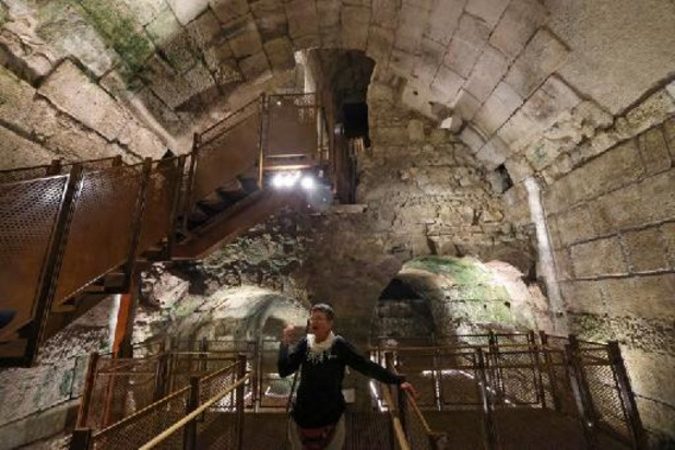 Israël dévoile de nouvelles portions d'un bâtiment datant du second Temple