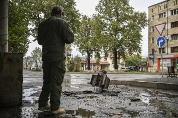 Helft bevolking Karabach op de vlucht door gevechten met Azerbeidzjan