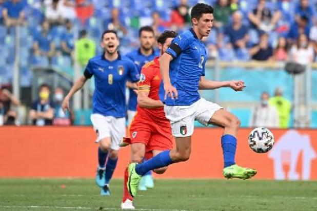 Euro 2020 - Parcours parfait pour l'Italie après sa victoire contre le Pays de Galles