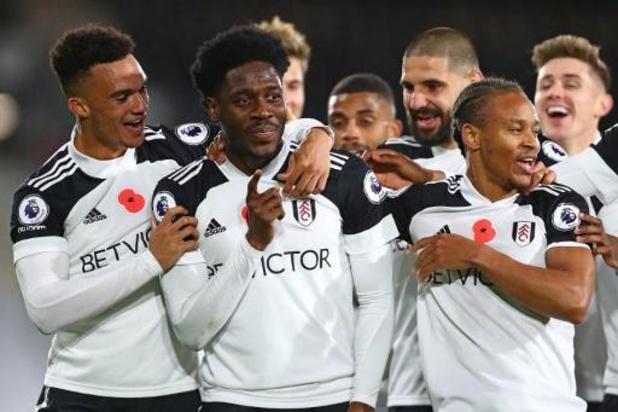 Fulham, met bankzitter Odoi, behaalt tegen West Brom eerste competitiezege