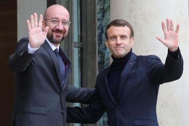 Macron wil snel vooruit met de brexit na Britse verkiezingen