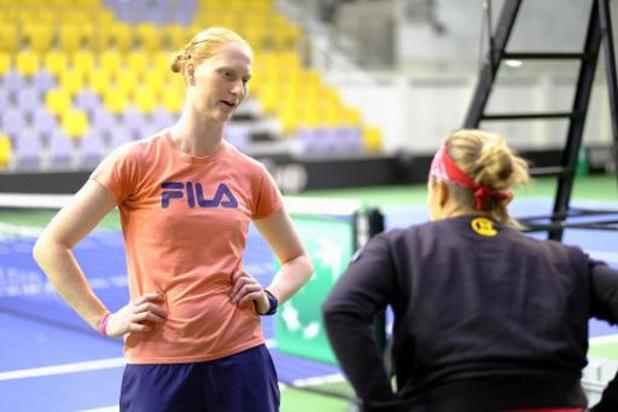 WTA Cincinnati - Flipkens et Van Uytvanck éliminées en double