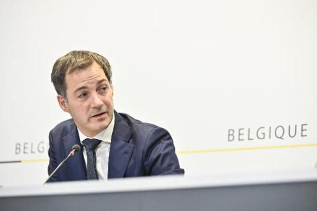 """Premier De Croo: """"België niet laten verdelen in strijd tegen corona"""""""