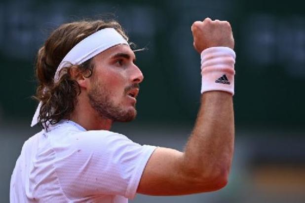 Stefanos Tsitsipas déroule en huitièmes de finale de Roland-Garros face à Pablo Carreno-Busta