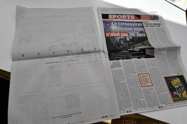 Les quotidiens francophones rassemblent 1,5 million de lecteurs par jour