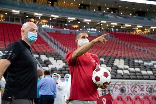 """FIFA-voorzitter Infantino aan de beterhand: """"Enkel nog lichte symptomen"""""""