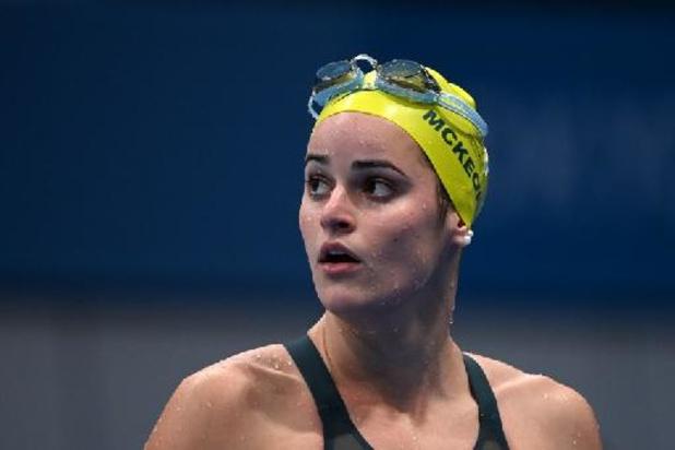 OS 2020 - Australische Kaylee McKeown wint 100 meter rugslag
