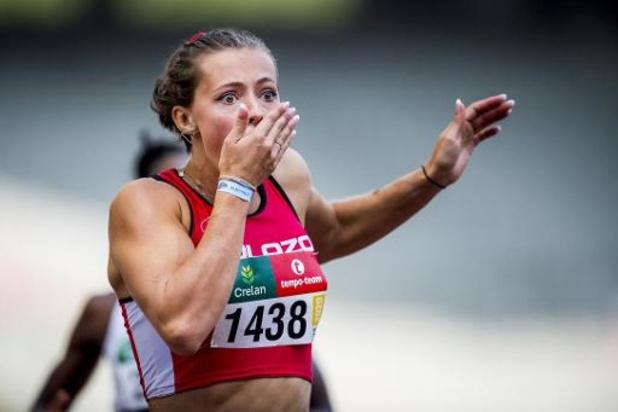 Rani Rosius signe le 2e chrono féminin belge sur 100 m