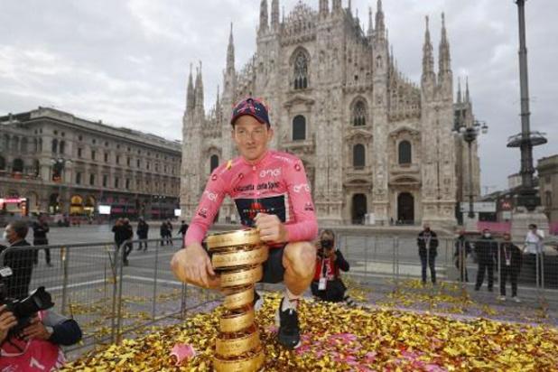 Tour d'Italie - Tao Geoghegan Hart n'avait jamais imaginé gagner le Giro au départ en Sicile