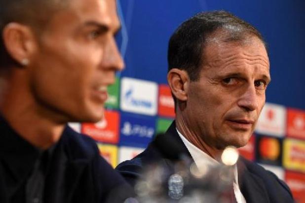 """Cristiano Ronaldo """"n'a plus l'intention de jouer avec la Juventus"""", confie Allegri"""