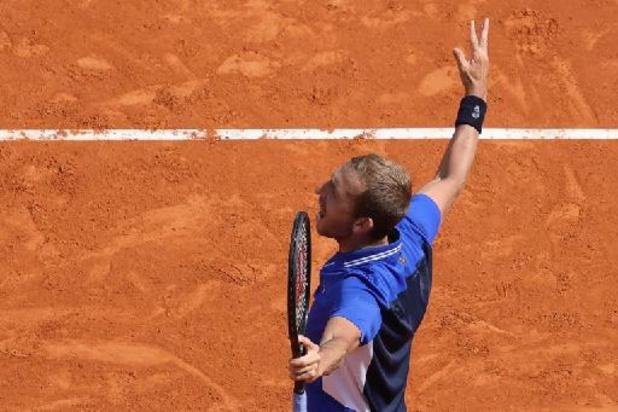 """ATP Monte-Carlo - """"En aucun cas, un match contre Goffin n'est facile à gagner"""", confie Evans"""