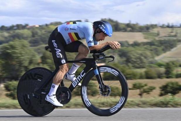 Giro: Campenaerts is furieus na val bij openingstijdrit