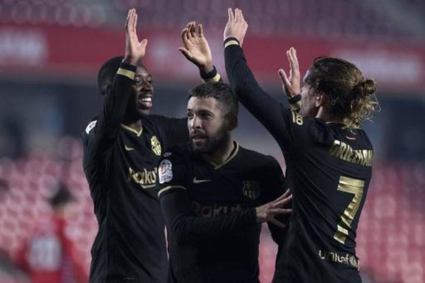 Copa del Rey - Barcelona kruipt tegen Granada in kwartfinales door oog van de naald