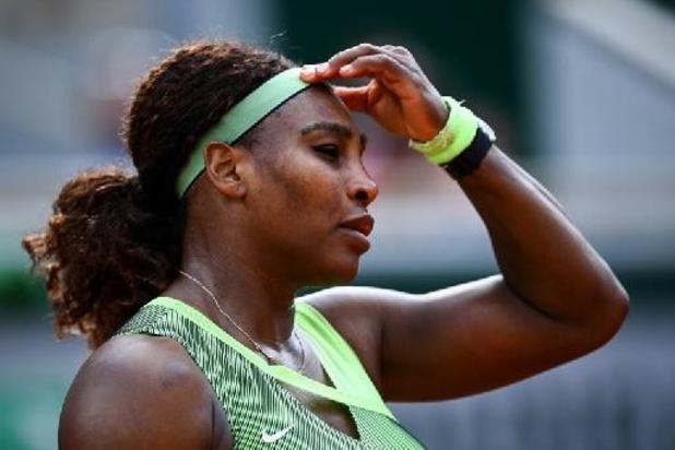Roland-Garros - Serena Williams in achtste finales uitgeschakeld