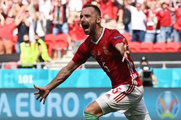 """Euro 2020 - """"Peut-être le plus beau jour de ma vie"""", déclare Attila Fiola, le buteur hongrois"""