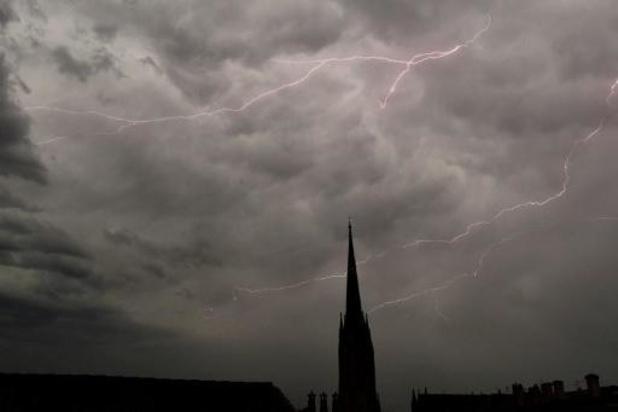 Des averses parfois orageuses ponctueront la fin de la semaine