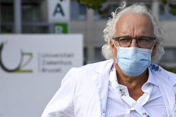 UZ Brussel gelauwerd voor aanpak van de coronapandemie