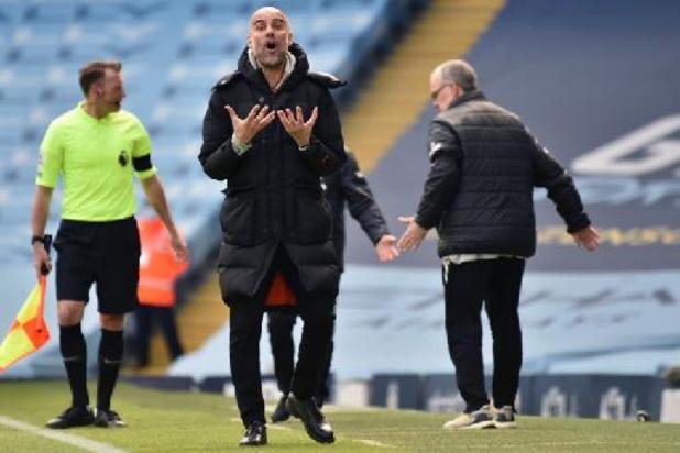 City gaat zonder De Bruyne onderuit tegen tien spelers van Leeds