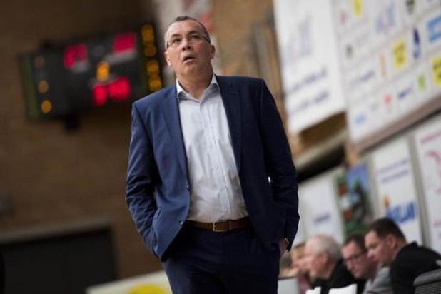 Euromillions Basket League : Yves Defraigne prolonge son contrat sur le banc d'Alost