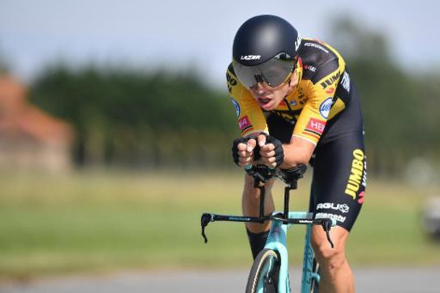 Wout Van Aert décroche son deuxième titre national consécutif en contre-la-montre