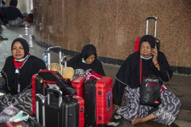 Duizenden Indonesiërs gestrand nadat Saoedi-Arabië pelgrims weert