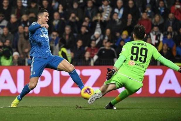 Serie A - Cristiano Ronaldo fête le 1.000e match de sa carrière en égalant un record en Serie A