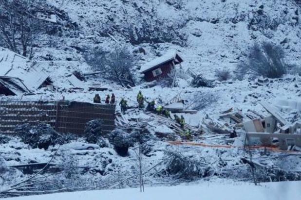 In Noorwegen wordt verder gezocht naar overlevenden van aardverschuiving