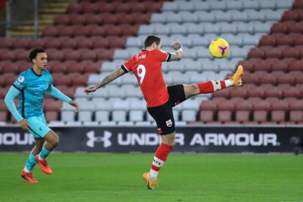 Premier League - Leider Liverpool lijdt tweede seizoensnederlaag bij Southampton