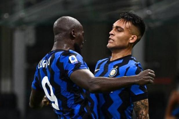 Les Belges à l'étranger - L'Inter de Romelu Lukaku reprend sa deuxième place grâce à un succès 2-0 contre Naples