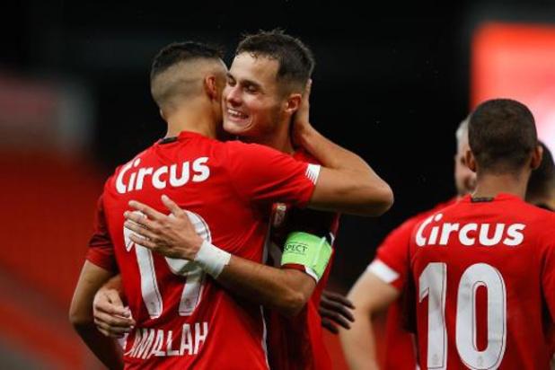 Europa League - Standard haalt het na verlengingen van Vojvodina en staat in laatste voorronde