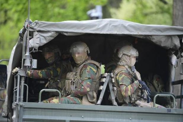 Militairen blijven toekomen aan De Salamander in Maasmechelen