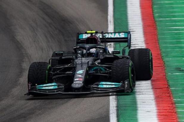 La course interrompue après un crash entre Bottas et Russell