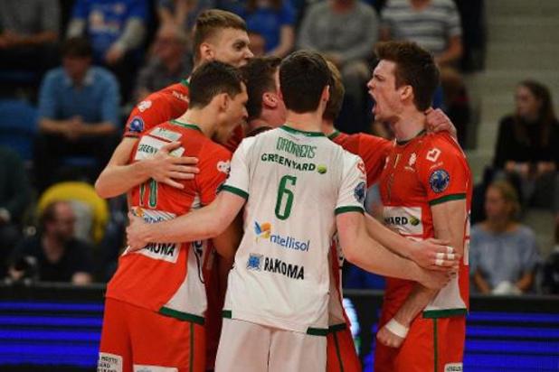 Euromillions Volley League - Maaseik surpris à Menin dans le 1er match des playoffs